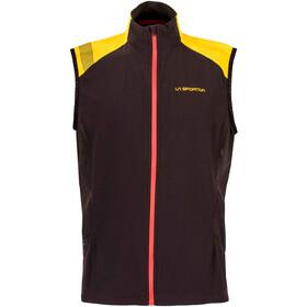 La Sportiva Mistral Miehet Juoksuliivi , keltainen/musta